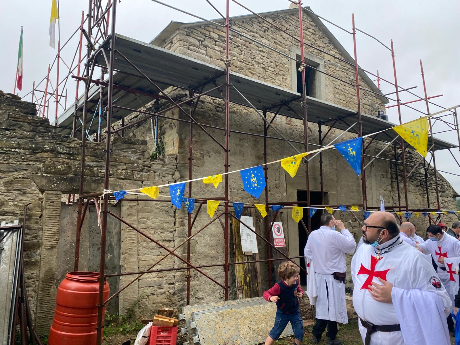 Partecipazione all'innaugurazione della Chiesa San Michele la Torre a Palazzuolo (RA) 26.09.2021