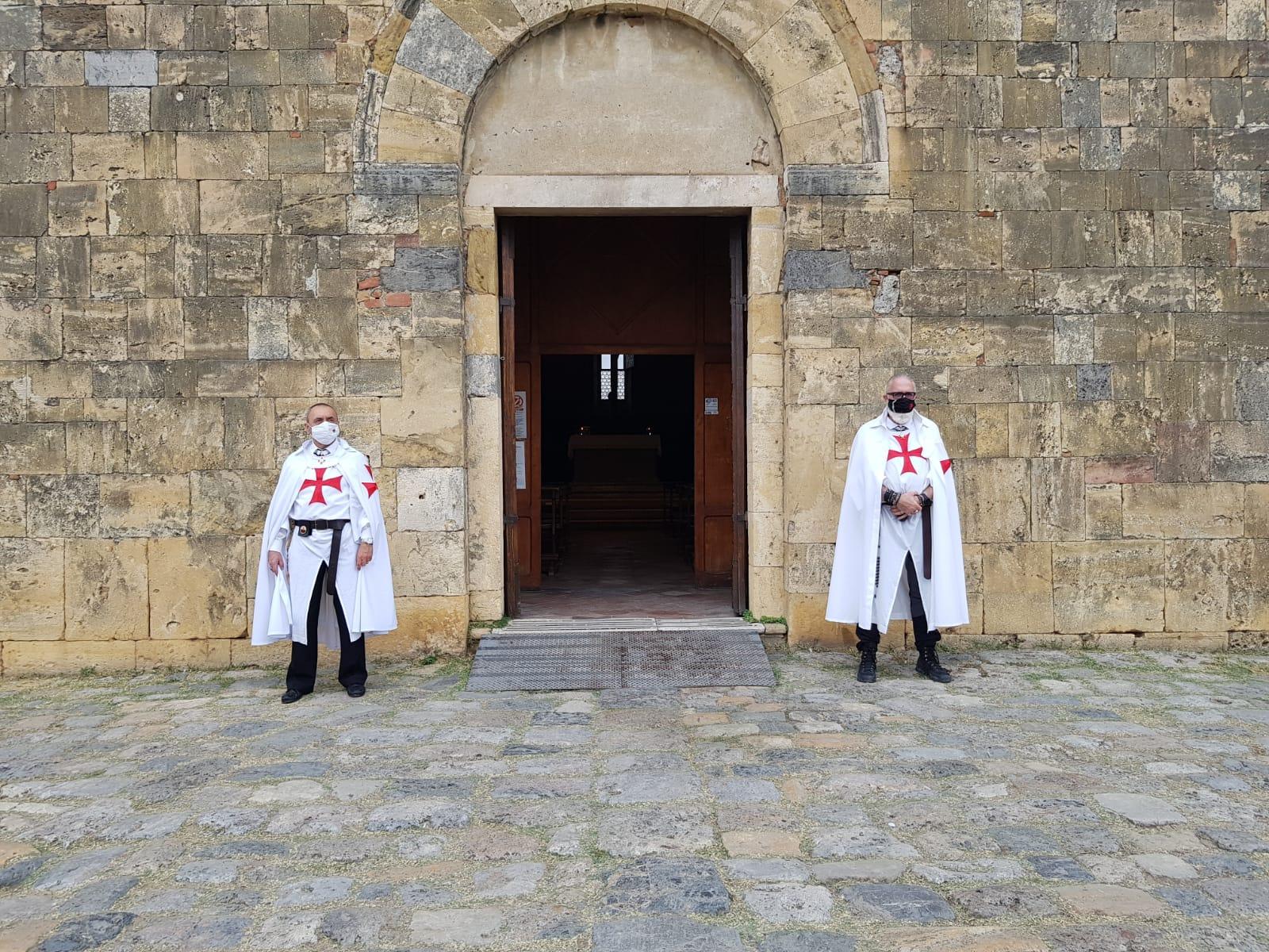 Custodia dell'abbazia dei Santi Salvatore e Cirino e della chiesa di Santa Maria Assunta a Monteriggioni (SI) 26.09.2021