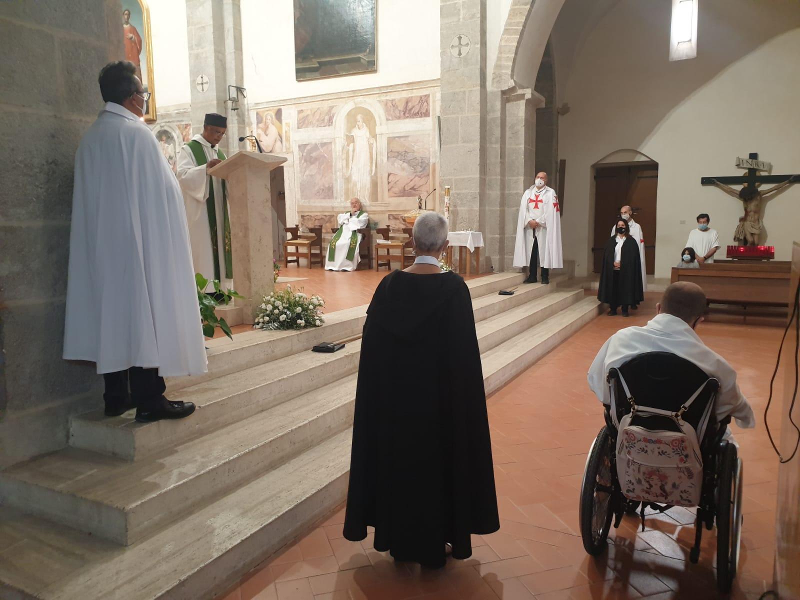 Custodia presso la Chiesa della Madonna del Fossato el'Abbazia di Valviscolo a Sermoneta (LT) 26.09.2021