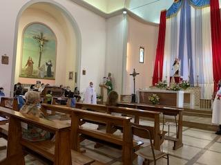 Santa Messa – Chiesa di San Bartolomeo Apostolo – Borgo Tossignano (BO) 26.07.2020