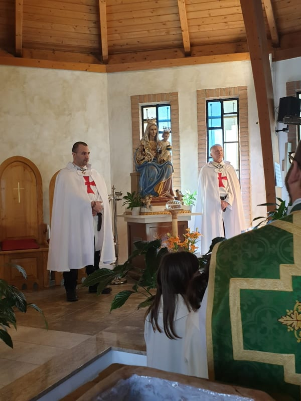 Santa Messa Domenicale nella Chiesa della Beata Vergine del Carmine – Rebocco – La Spezia