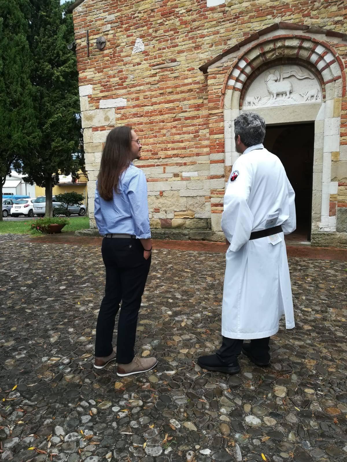 Custodia della Pieve Romanica della Trasfigurazione di San Salvatore – Coriano (RN)