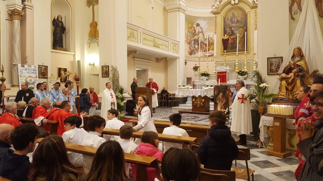 Processione Eucaristica del Martedì della Settimana Santa a Petriolo (MC)