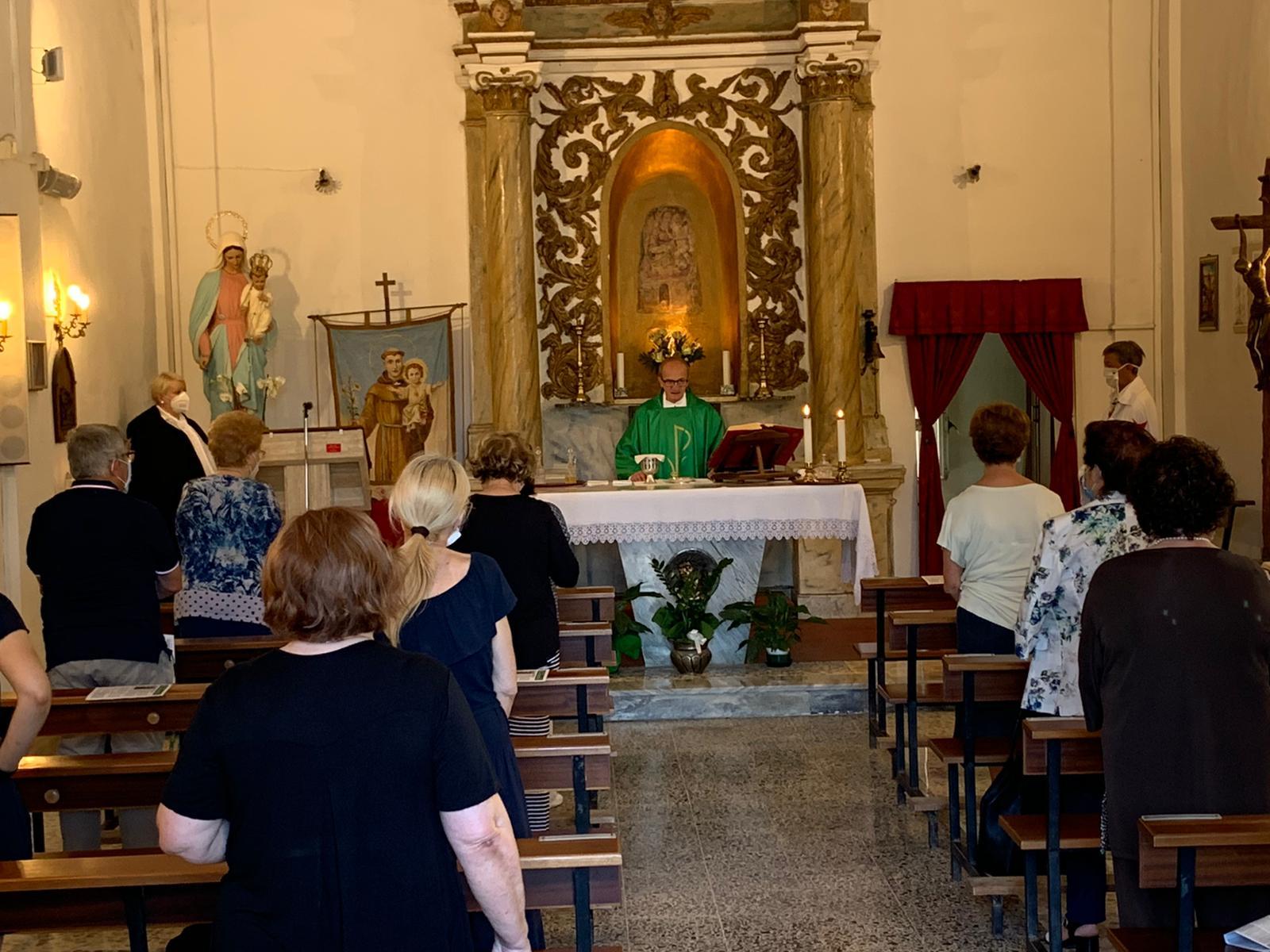 Custodia e Partecipazione alle S. Messe presso l'Abbazia di Valvisciolo e Chiesa della Madonna del Fossato – Sermoneta(LT)- 28.06.2020