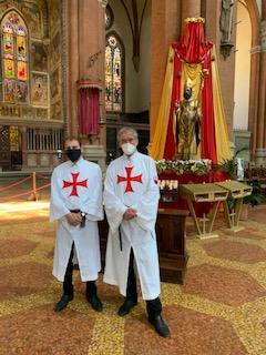 Turno di custodia alla Basilica di San Petronio – Bologna – 27.06.2020
