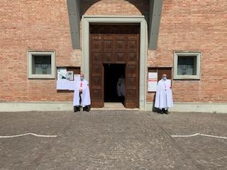 Custodia della Chiesa di San Bartolomeo Apostolo – Borgo Tossignano (BO) 28.06.2020