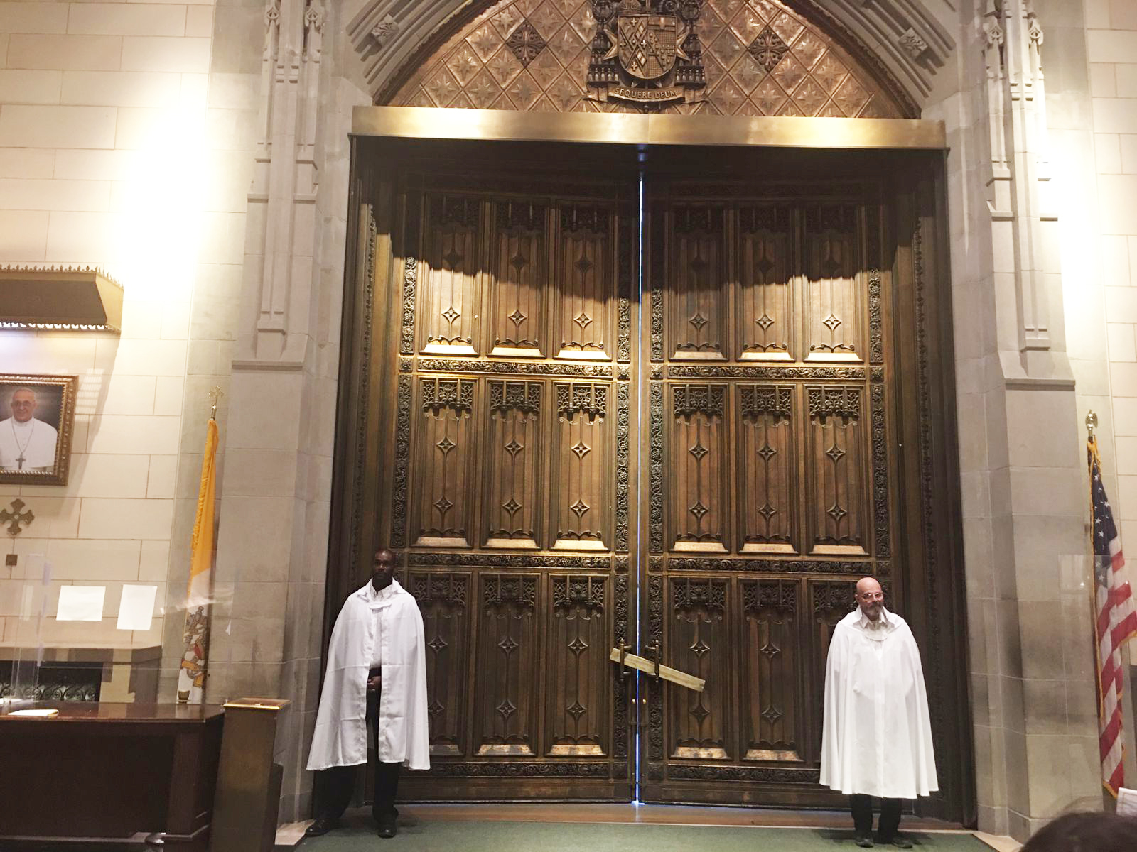Holy mass in St. Patrick Cathedral, New York City