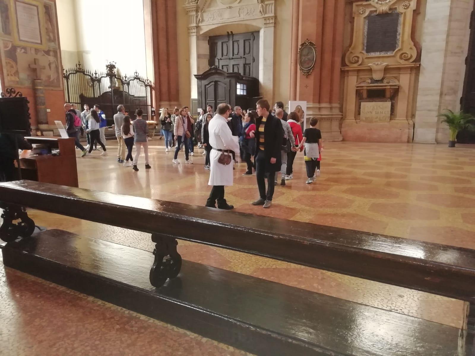Custodia della Basilica di San Petronio a Bologna 20 – 21 Aprile 2019.