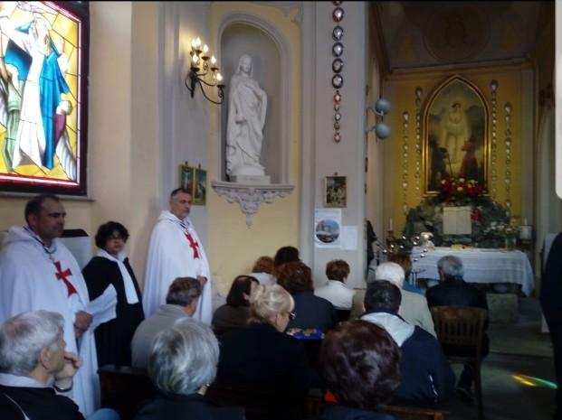 Santa Messa al Santuario della Salette di Viù (Torino)