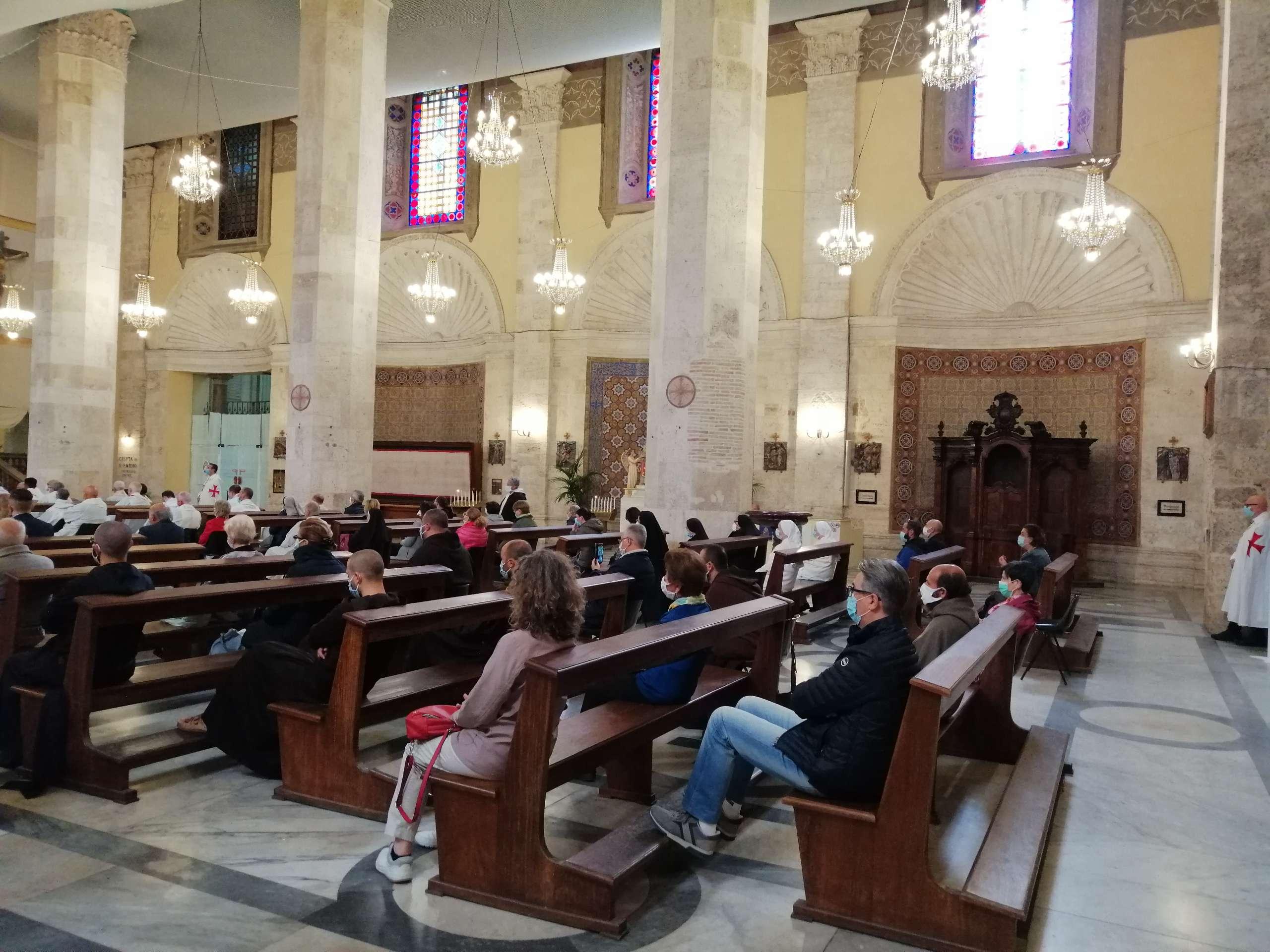 Turno di custodia della Cattedrale di Sant'Emidio ad Ascoli Piceno – 30.05.2020