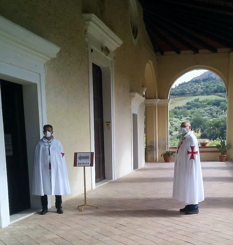 Turno di Custudia e Controllo (Anti Covid-19) presso l'Abbazia Madonna della Catena Cassano all'Ionio