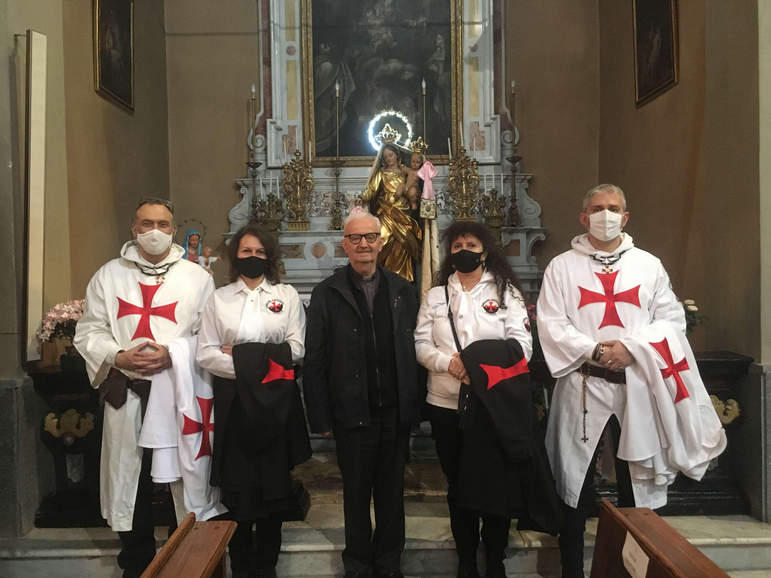 Partecipazione Santa Messa per festa patronale San Pancrazio – Chiesa di San Pancrazio – Caprie (TO) 09.05.2021